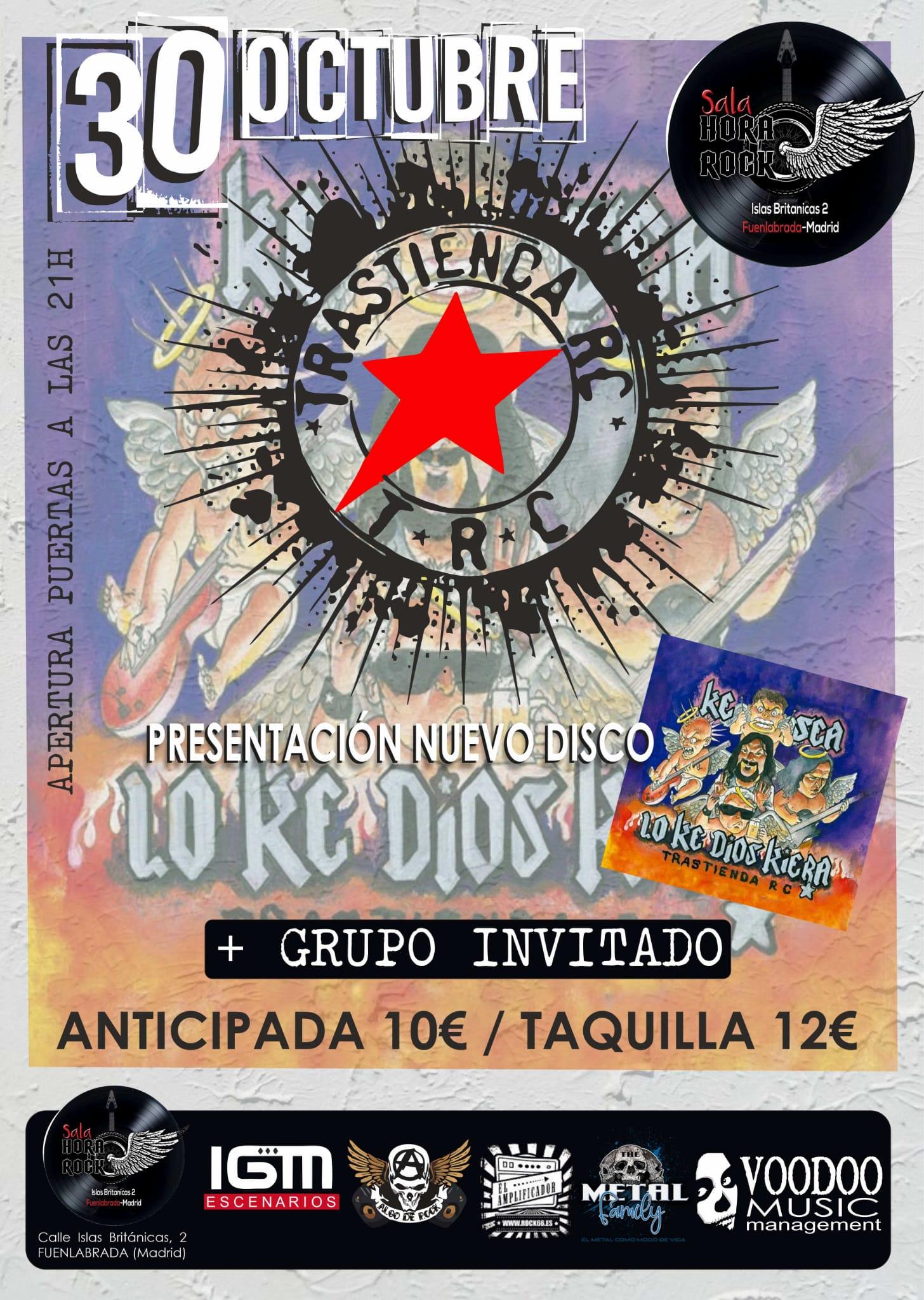 Trastienda RC – 30 de octubre en Fuenlabrada (Madrid)