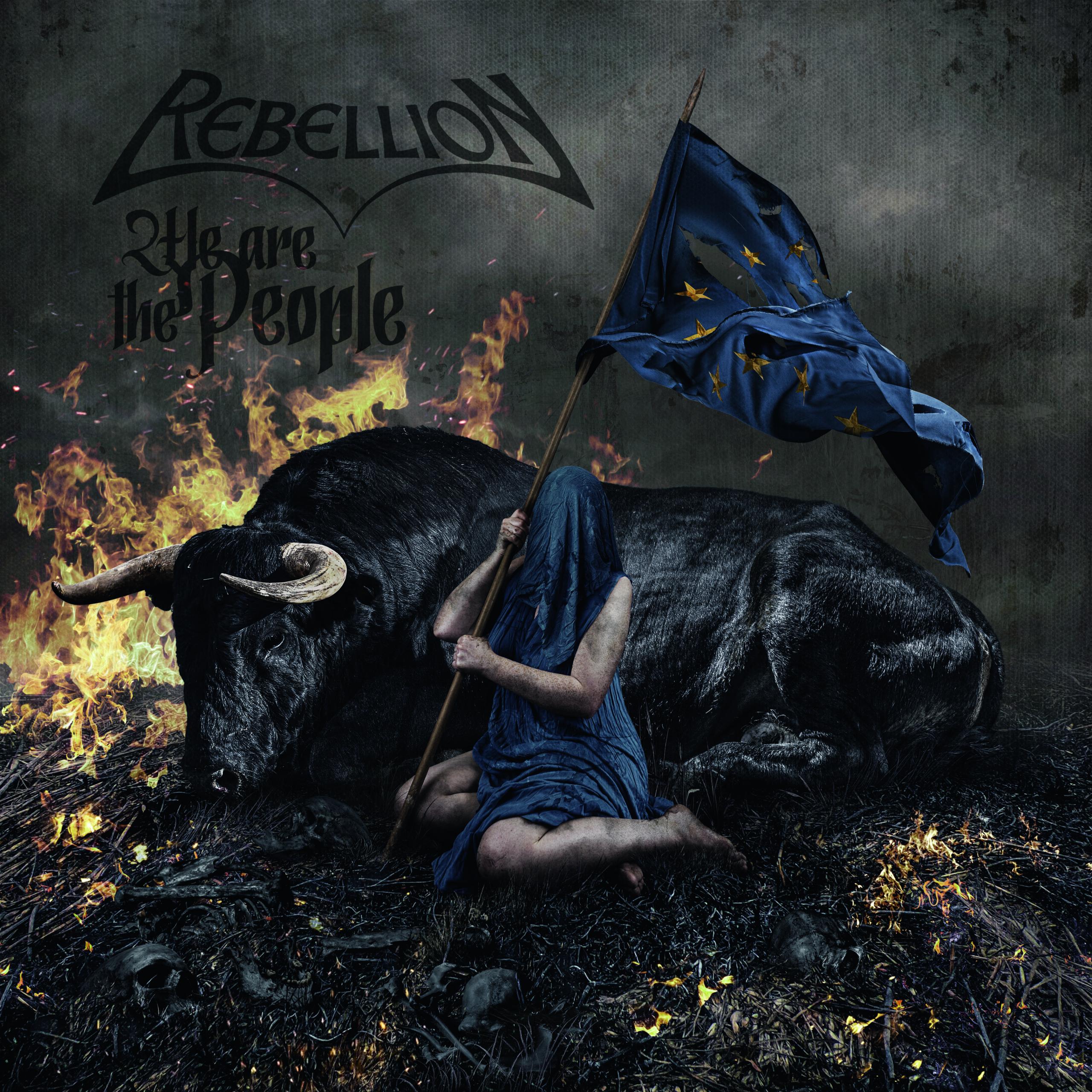 """Rebellion: Editará su nuevo disco «We Are The People"""" el 23 de julio vía Massacre Records"""