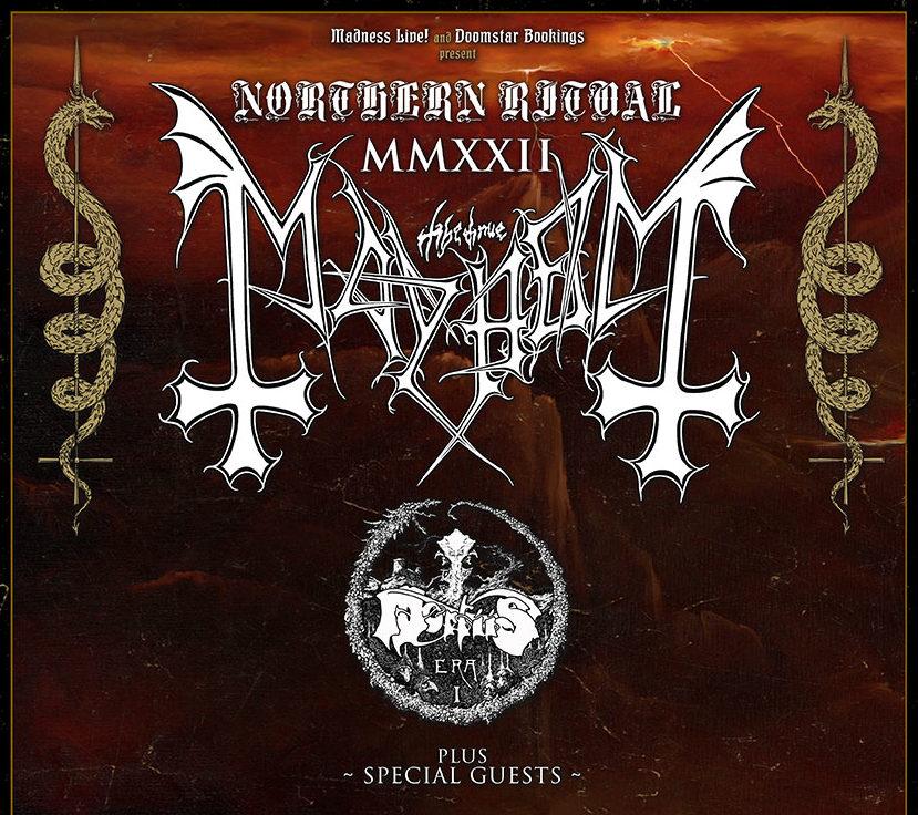 Mayhem + Mortiis: Gira española en mayo de 2022