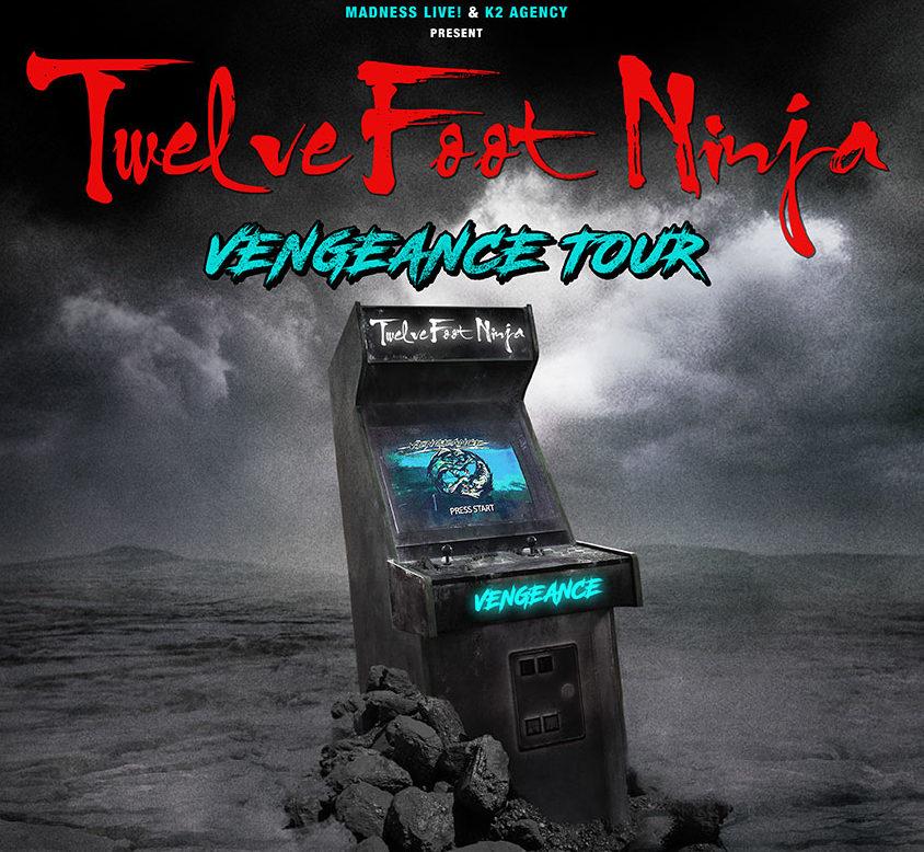 Twelve Foot Ninja: estarán de gira por España en marzo de 2022