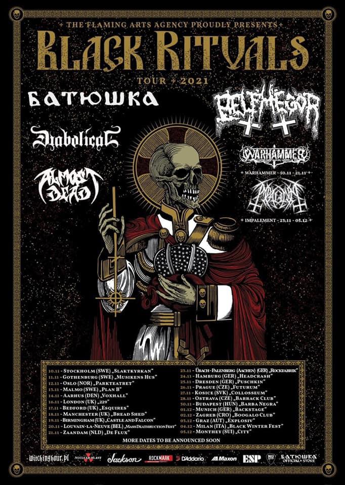 Almost Dead se unen a Batushka y a Belphegor en el «Black Rituals Tour»