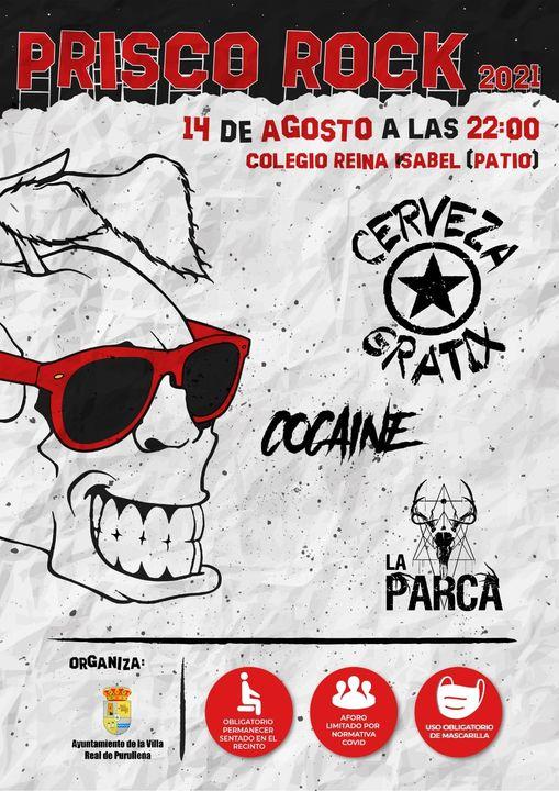 Prisco Rock 2021 – El 14 de agosto en Purullena (Granada)