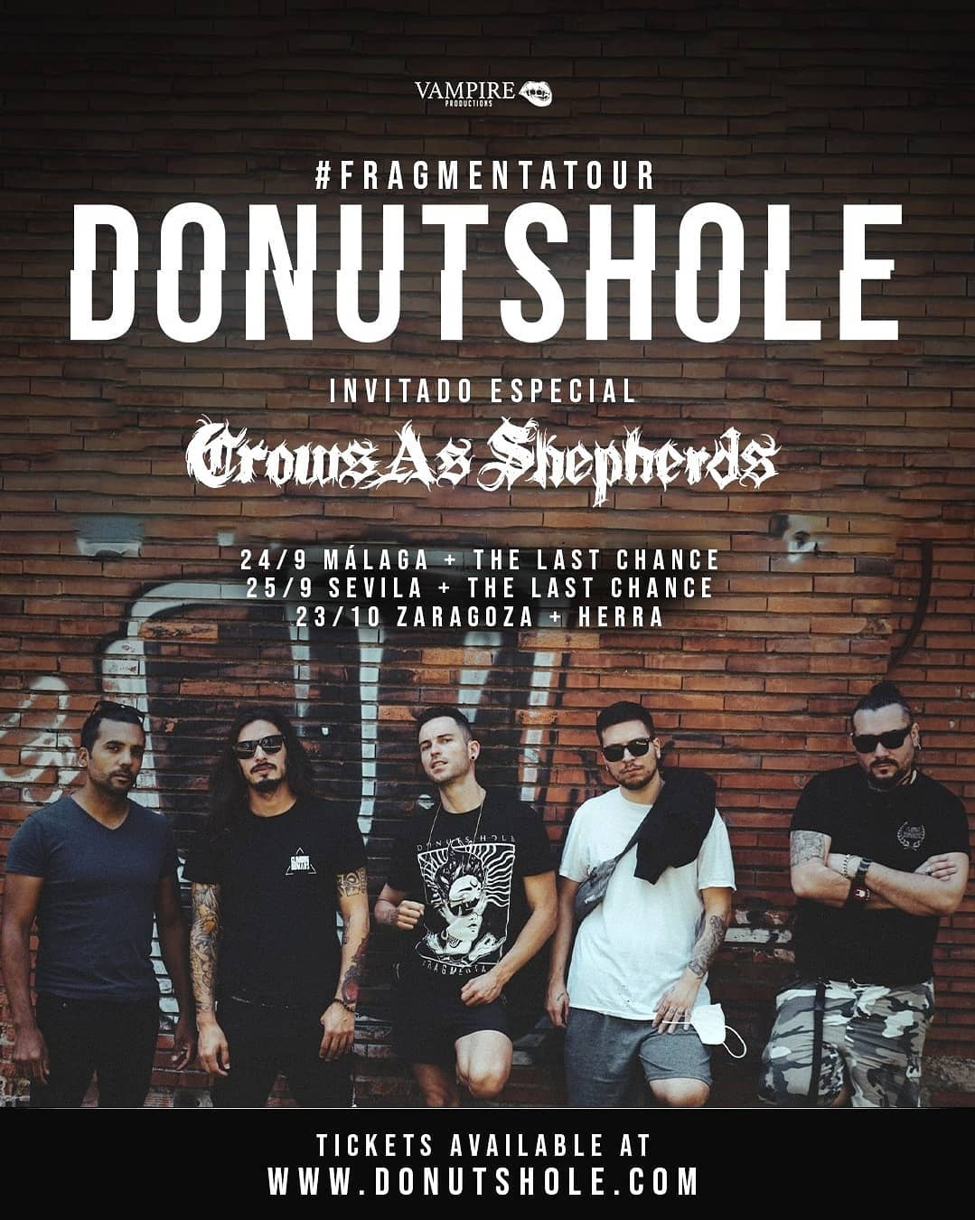Donuts Hole + Crows As Shepherds + the last chance  / herra