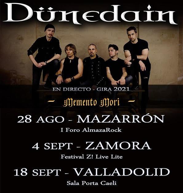 Dünedain vuelven a los escenarios con cuatro fechas