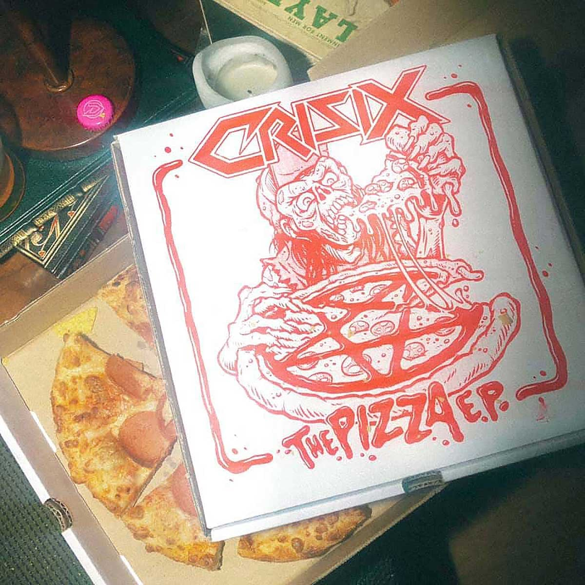 Review: Crisix «The Pizza EP»