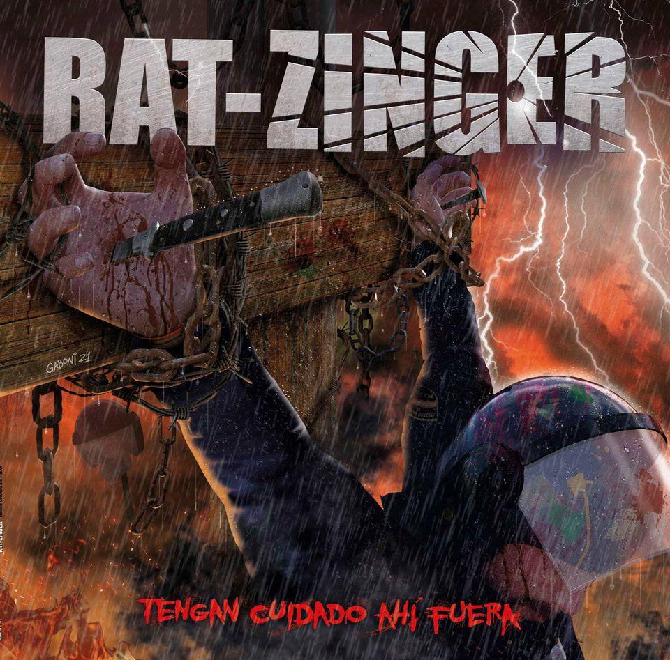 Rat-Zinger: Portada y fecha de lanzamiento de su nuevo disco