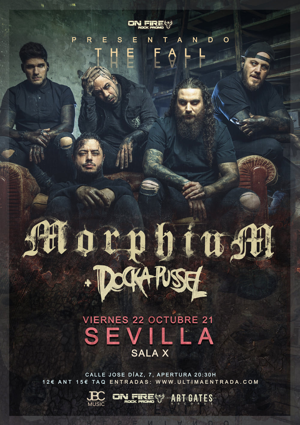 Morphium + Docka Pussel – 22 de octubre en Sevilla