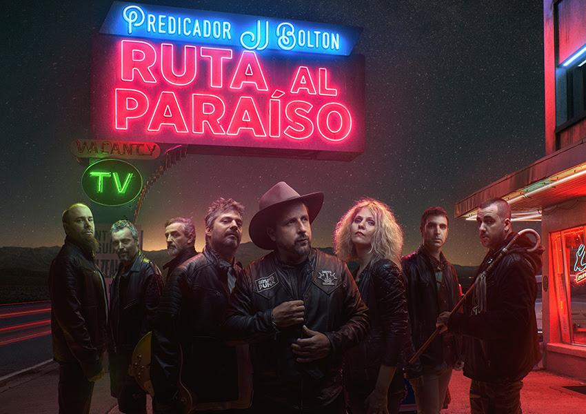 PREDICADOR JJ BOLTON: Lanza el single 'La Carretera Me Curará', dentro de su proyecto benéfico y reivindicativo 'Ruta al Paraíso'